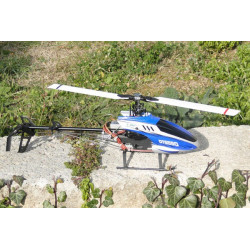 Esky DTS550 Flybarless RTF - Blue (2.4Ghz Mode 2)