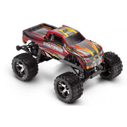 TRAXXAS STAMPEDE VXL BRUSHLEES RTR with TQi 2.4Ghz Intelligent Radio System - Red (3607)
