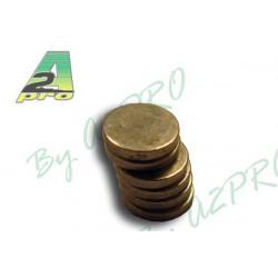 Aimant rond diamètre 6mm/1mm (5741)