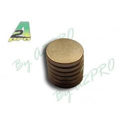 Aimant rond diamètre 10mm/1.5mm (5743)