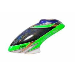 Neon green laser-chip Fiber Canopy LOGO 600 (04492)