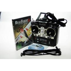 RealFlight 6 R/C Flight Simulator Export avec telecommande - Helicopter Mode 1 (GPMZ4478)