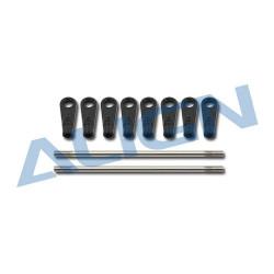 Linkage rod(A) set 600/700Flybarless (HN7100AT)