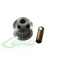 Aluminum Motor Pulley Z20 (H0215-20-S) SAB GOBLIN 500
