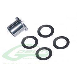 Aluminum Main Shaft Spacer (H0223-S) SAB GOBLIN 500