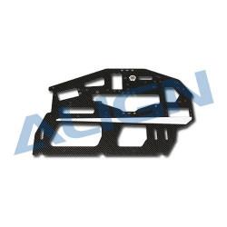 Carbon Main Frame(L) / 2mm Flanc en carbone L - T-rex 700 E (H70041AT)