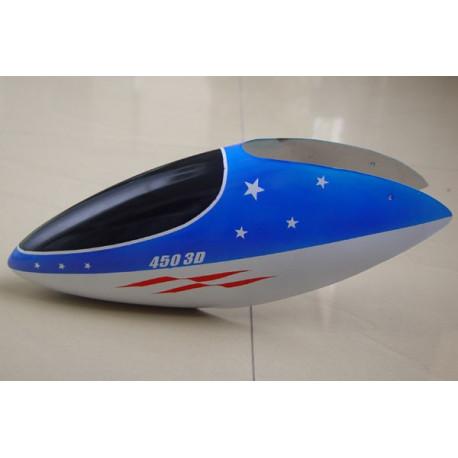 Canopy Fiber 450 3D White And Blue (1041CB-12)