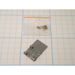 Metal Battery Mounting Plate Set - Titanium (1152-T)