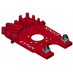 GOBLIN 500 upgrade - Cooled Motor Mount - Red Devil Edition (LX0620)