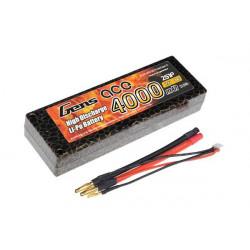 Gens ace 4000mAh 7.4V 30C 2S1P HardCase Lipo Battery 9 (B-30C-4000-2S1P-HardCase-9)