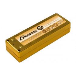 Gens ace 6000mAh 7.4V 70C 2S1P Series with Gold HardCase Lipo10 (B-70C-6000-2S1P-HardCase-10a)