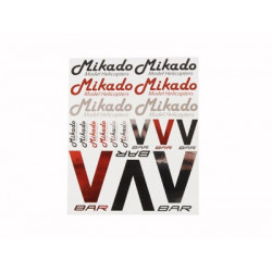 Sticker set Mikado/VBar (04447)