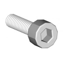 Socket head cap screw M2.5x12 (4pc) (04651)