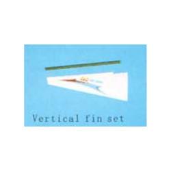 Vertical fin set