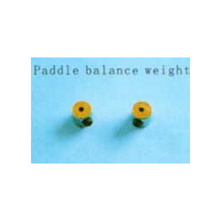 Paddle balance weight