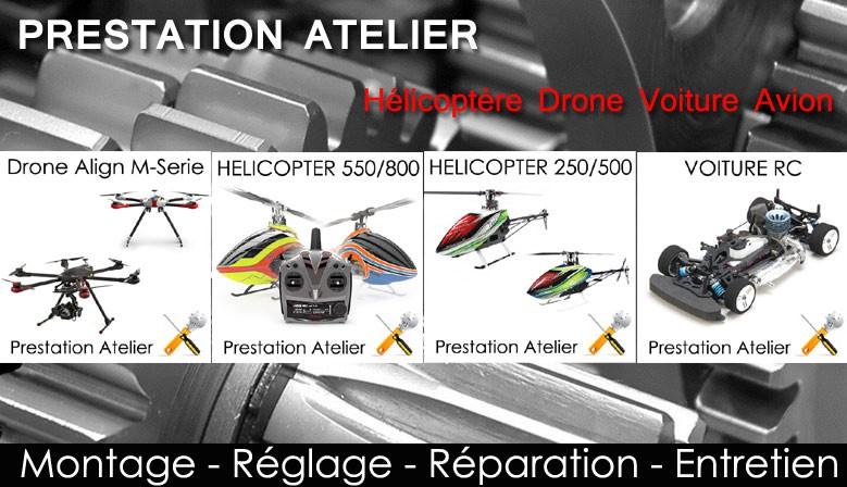 Atelier Ckado Hélico Drone Avion Voiture