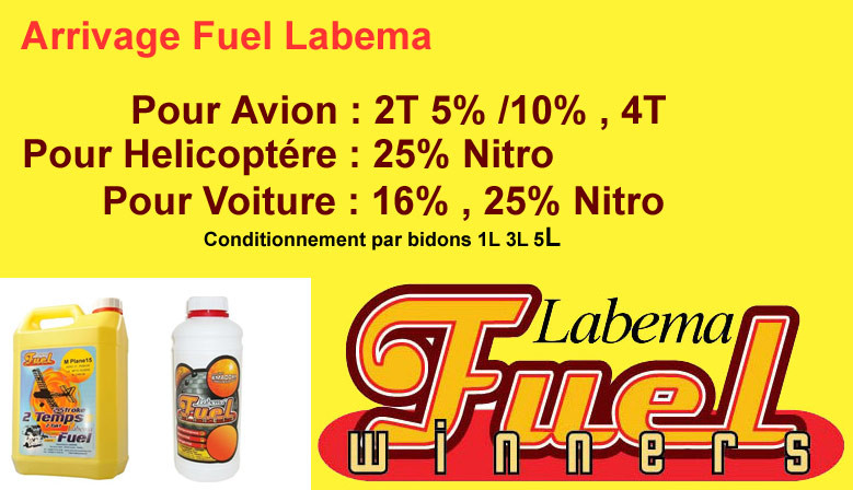 En stock Carburant modélisme Labema