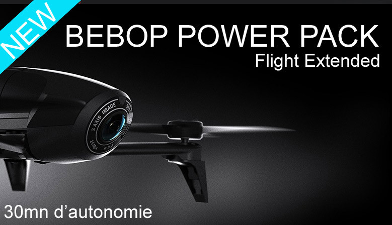 Drone Bebop Power FPV Parrot Pack Fly more